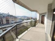 Apartamento com 3 dormitórios para alugar, 100 m² por R$ 3.500,00/mês - Jardim Tejereba - Guarujá/SP