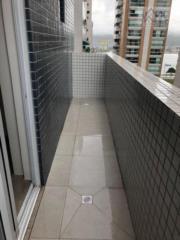 Apartamento com 1 dormitório para alugar, 44 m² por R$ 2.300,00/mês - Ponta da Praia - Santos/SP