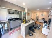 Apartamento com 1 dormitório suíte para alugar, 46 m² por R$ 2.116/mês - Panamby - São Paulo/SP