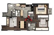 Apartamento com 2 dormitórios à venda, 106 m² por R$ 1.510.000,00 - Itaim Bibi - São Paulo/SP